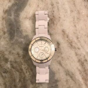 Authentic Fossil watch; women's